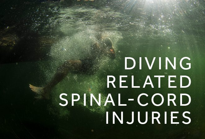 Diving related spinal cord injuries